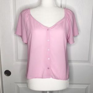 NWT all in favor Nordstrom lilac purple top